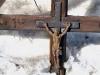 Christus in de sneeuw