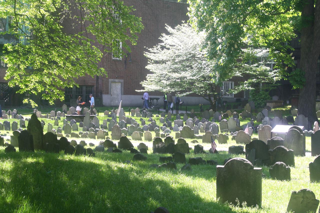 Kerkhof in Boston (2)