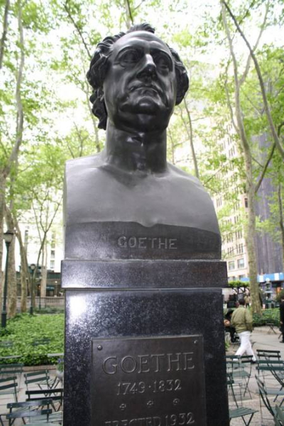 Goethe in New York