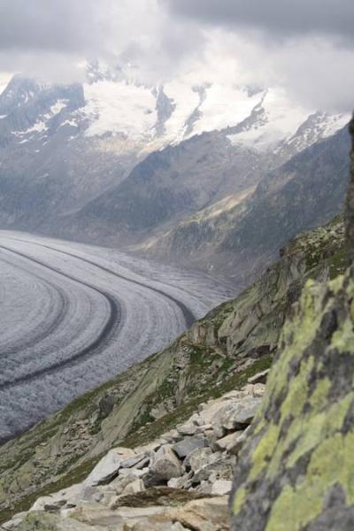 Grosse Aletschgletscher.