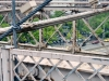 Vanaf de brug gezien